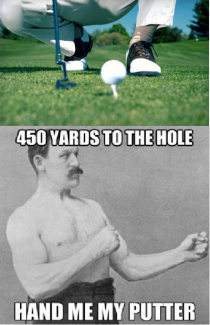 Found this on a golf courses web site Couldnt help but think