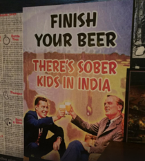 Found this poster in a bar in Munich