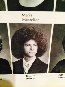 Found this troll in my moms yearbook from the s