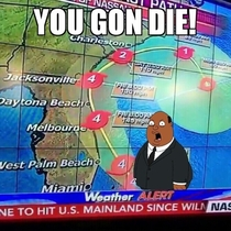 Fox News reporting on Hurricane Matthew