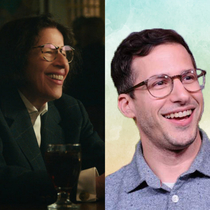 Fran Lebowitz looks like Andy Samberg playing the role of an old woman