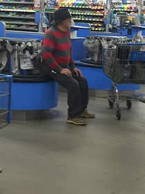 Friday the th vs    This guy at Walmart