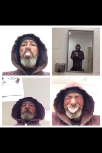 Friend lost her phone and tracked it to the beach laying next to a homeless man He took a few selfies