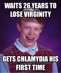 Friend of mine recently lost his virginity at age