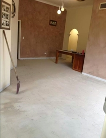 Friend posted this pic of her house renovations all I can see is penis door