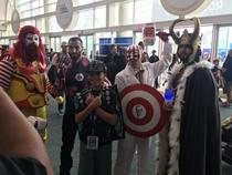 Friend went to Comic con and sent me a picture of the best heroes ever assembled