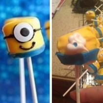 Friends attempt at Despicable Me marshmallows