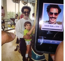 Friends father looks exactly like Borat