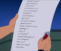 Fry and Leelas To-Do List