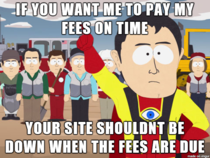 Fuck you Tuition Payment Website