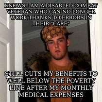 Fucking Scumbag Veterans Affairs