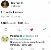 Fucking thanks Jake