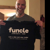 Funny Gift For Uncle Like A Dad