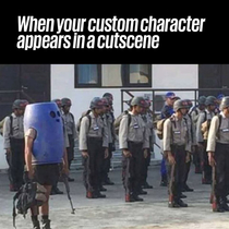 Games which allow custom characters in the cutscenes