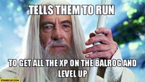 Gandalf and Strategy Games