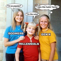 Gen X has middle child syndrome