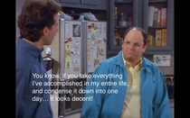 George Costanza is my spirit animal