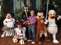 George Lucas sells his soul to Disney