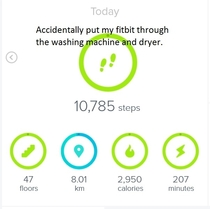 Get Fit Fast Put your Fitbit through the Washing Machine and Dryer