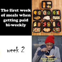 Getting paid bi-weekly should be illegal