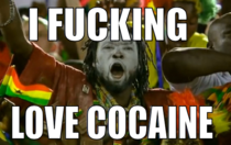 Ghana fan at the World cup