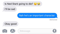 Girlfriend finally stopped being stubborn about watching GoT and is loving it let the countdown to her being mad at me begin