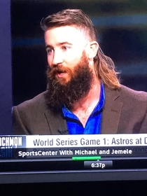 Give me one of everything Charlie Blackmon said as he sat down in the barbers chair
