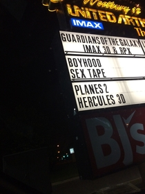 Go see Guardians of the Galaxy Shy away from Boyhood Sex Tape