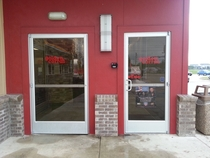 Golden Corral Doors