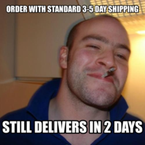 Good Guy Amazon This has happened  times in a row