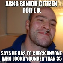 Good Guy Cashier Regrets Involuntary Decision