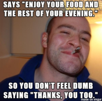 Good Guy Chinese Delivery Guy