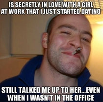 Good Guy CoworkerFriend I just found out about all of this yesterday As much as it makes me love and appreciate this guy even more I sorta feel like shit now