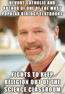 Good Guy Dr Kenneth Miller If only more Christians thought like this