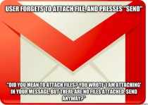 Good Guy Gmail impressed me with some simple technology today
