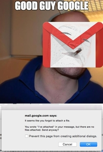Good Guy Google strikes again