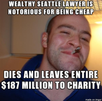 Good guy lawyer leaves quite the legacy