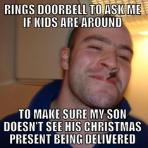 Good Guy Mailmanon a Sunday no less