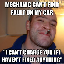 Good guy mechanic