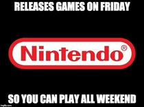 Good guy Nintendo Ive always appreciated this this weekend doubly so