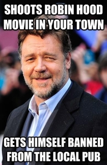 Good Guy Russell Crowe