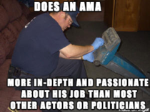 Good Guy Vacuum Cleaner Technician Lets take a moment to appreciate a genuine AMA