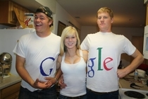 GOOGLE costume very well executed