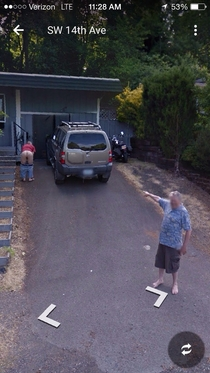 Google street view from Portland