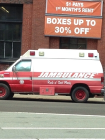 Got a bad case of tone-deaf Call the JAMBULANCE
