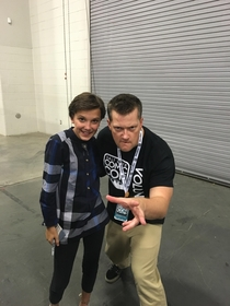 Got to be Milly Bobby Browns body guard for a few days at the Salt Lake City Comic Con