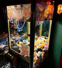 Grabber machine at my local pub Dundee Scotland