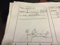 Grading one of my rd grade students homework tonight and came across this beauty This wasaccurate Trying to decide if I should give bonus points