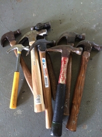 Grandfather gave me some tools for our new home Set for life now