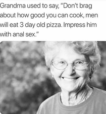 Grandma got no chill